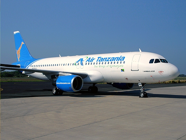 Air Tanzania Airbus A320